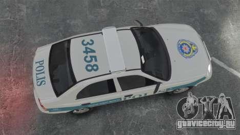 Hyundai Accent Admire Turkish Police [ELS] для GTA 4