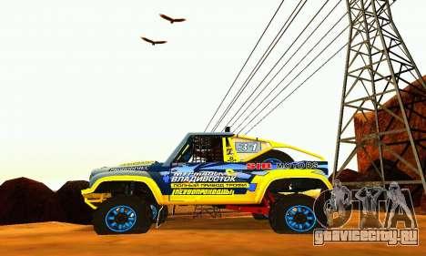 УАЗ 31514 Ралли для GTA San Andreas вид справа