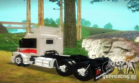 TopLine Scania 113 h 360 для GTA San Andreas вид сзади слева