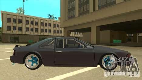 Fortune Drift для GTA San Andreas вид сзади слева