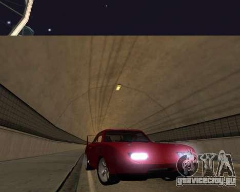 Dodge Charger Daytona для GTA San Andreas вид сбоку