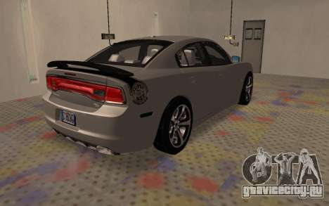 Dodge Charger Super Bee для GTA San Andreas вид сзади слева