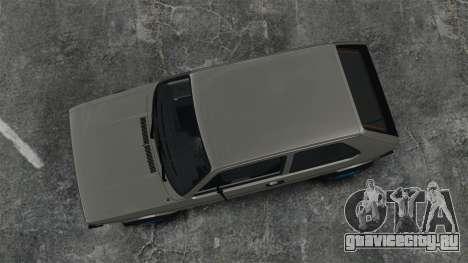 Volkswagen Golf MK1 GTI Update v2 для GTA 4 вид справа