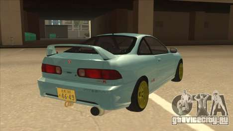 Honda Integra JDM Version для GTA San Andreas вид справа