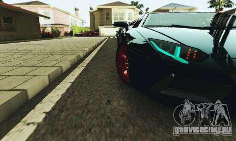 Lamborghini Aventador LP700 для GTA San Andreas вид сверху
