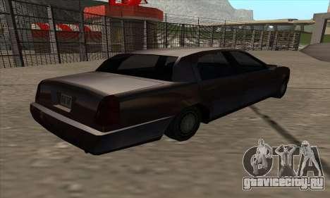 Washington из GTA 5 для GTA San Andreas вид слева