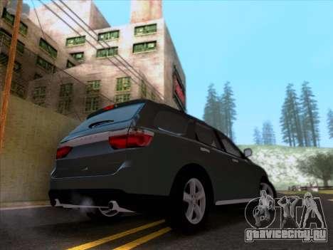 Dodge Durango Citadel 2013 для GTA San Andreas вид сзади слева