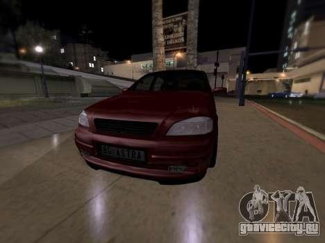 Opel Astra G для GTA San Andreas вид сзади слева