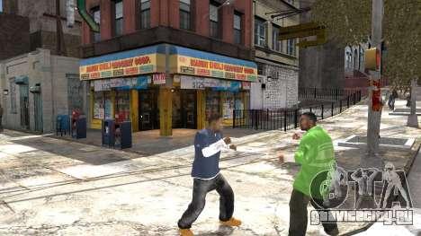 Franklin из GTA 5 для GTA 4 пятый скриншот
