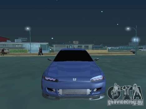Honda Civic (EG6) 1994 для GTA San Andreas вид сзади
