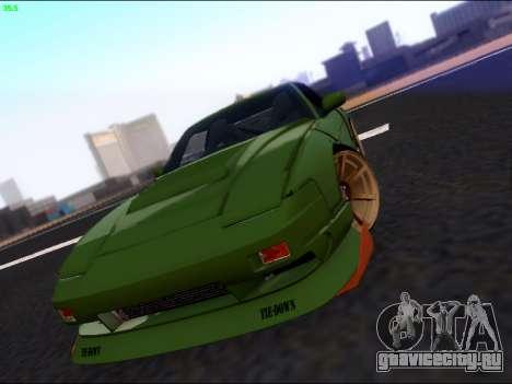 Nissan 180sx Takahiro Kiato для GTA San Andreas вид сбоку