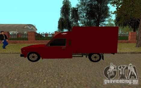 ИЖ 27175 для GTA San Andreas вид сзади слева