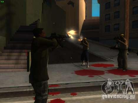 AK-103 для GTA San Andreas третий скриншот