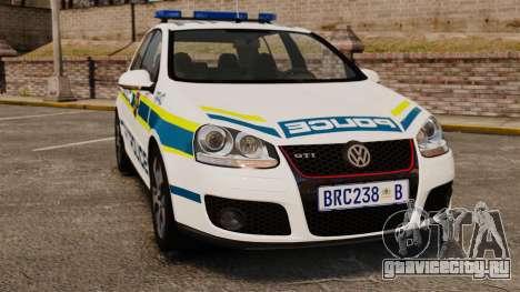 Volkswagen Golf 5 GTI Police v2.0 [ELS] для GTA 4
