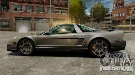 Acura NSX для GTA 4 вид слева