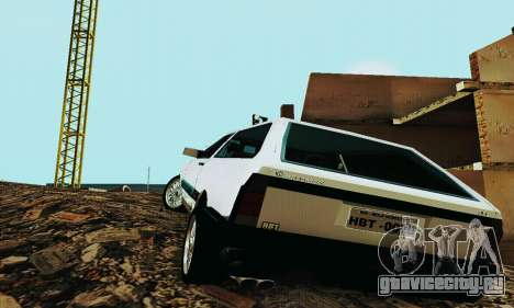 VW Parati GLS 1988 для GTA San Andreas вид справа