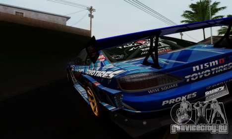 Nissan Silvia S15 Toyo Drift для GTA San Andreas вид справа