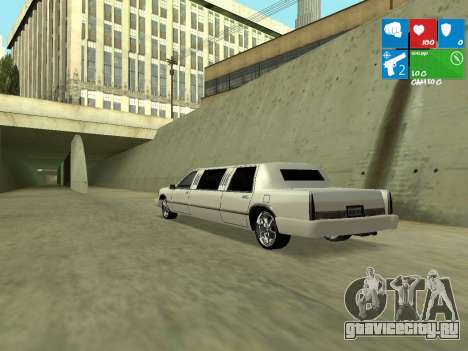 New Stretch для GTA San Andreas вид справа