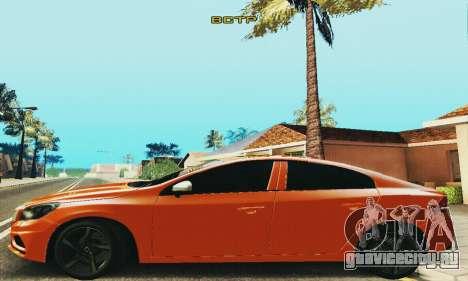 Volvo S60 для GTA San Andreas вид сзади