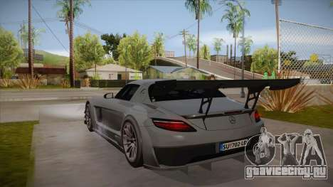 Mercedes-Benz SLS (AMG) GT3 для GTA San Andreas вид справа