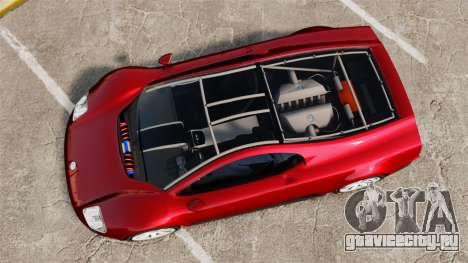 Volkswagen W12 Nardo 2001 [EPM] для GTA 4 вид справа