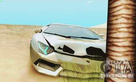 Lamborghini Aventador LP700 для GTA San Andreas двигатель