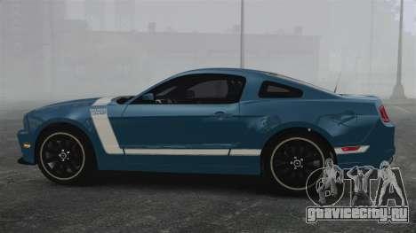 Ford Mustang BOSS 2013 для GTA 4 вид слева