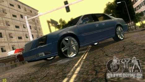 Caddy DTS DUB для GTA Vice City вид сзади