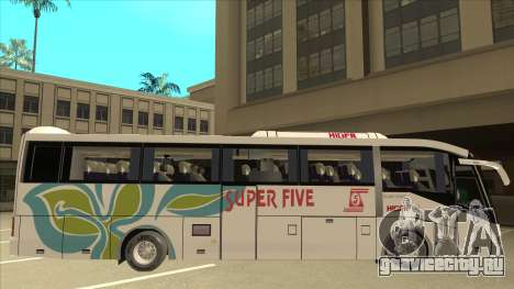 Higer KLQ6129QE - Super Five Transport S 025 для GTA San Andreas вид сзади слева