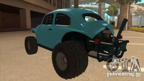 Volkswagen Baja Buggy 1963 для GTA San Andreas вид сзади