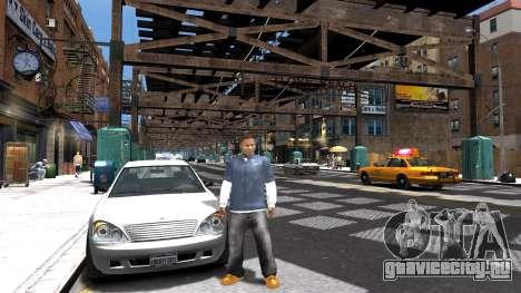 Franklin из GTA 5 для GTA 4 третий скриншот