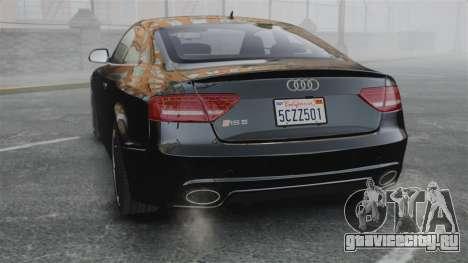 Audi RS5 2011 v2.0 для GTA 4 вид сзади слева