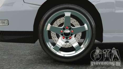 Acura Integra Type-R Domo Kun для GTA 4 вид сзади