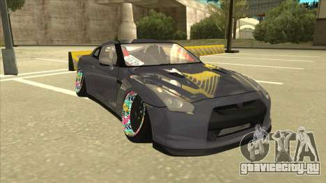 Nissan GT-R R35 Camber Killer для GTA San Andreas вид слева