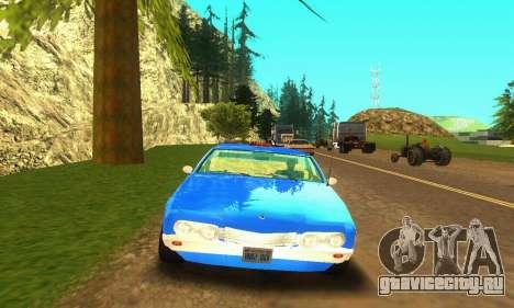 Fasthammer Taxi для GTA San Andreas вид слева