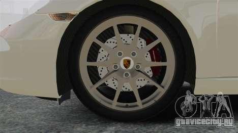 Porsche 911 Carrera S 2012 v2.0 для GTA 4 вид сзади