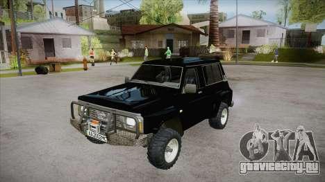 Nissan Patrol Y60 для GTA San Andreas салон
