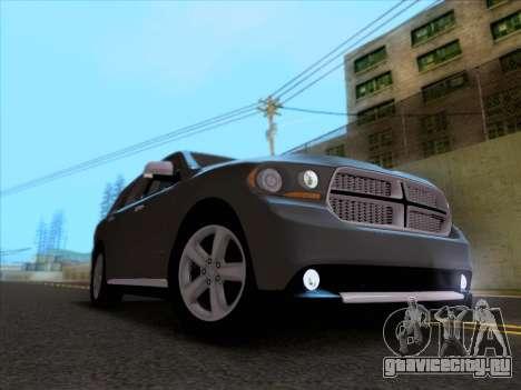 Dodge Durango Citadel 2013 для GTA San Andreas вид изнутри