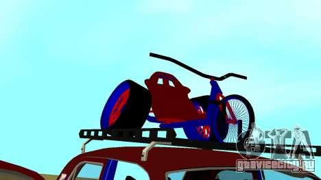 ГАЗ-24 Волга Fun для GTA San Andreas вид сверху