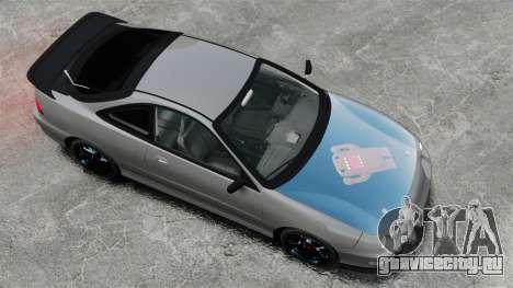 Acura Integra Type-R Domo Kun для GTA 4 вид справа