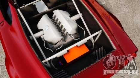 Volkswagen W12 Nardo 2001 [EPM] для GTA 4 вид сзади