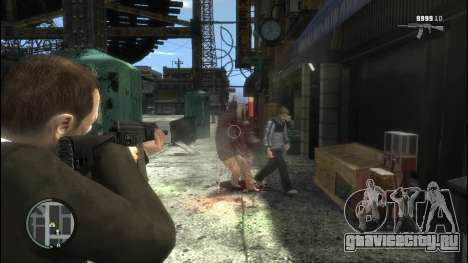 Sayga 12 для GTA 4 третий скриншот