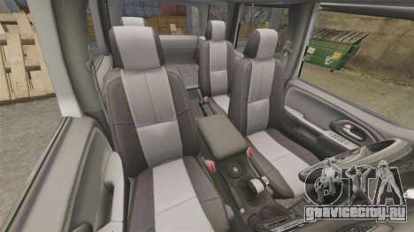 Chevrolet TrailBlazer SS 2008 для GTA 4 вид сбоку