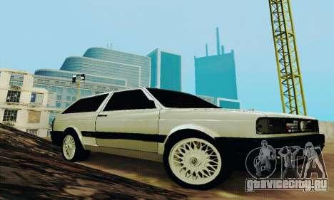 VW Parati GLS 1988 для GTA San Andreas вид сзади