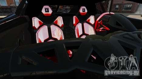 Lamborghini Veneno для GTA 4 вид сбоку