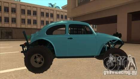 Volkswagen Baja Buggy 1963 для GTA San Andreas вид сзади слева