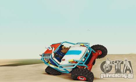 УАЗ Курсант для GTA San Andreas вид слева