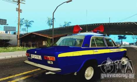 ВАЗ 21011 Агитационная для GTA San Andreas вид справа