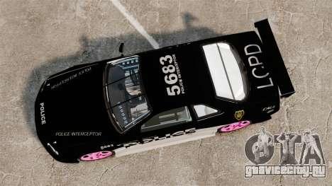 Nissan Skyline R34 для GTA 4 вид справа