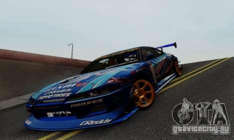 Nissan Silvia S15 Toyo Drift для GTA San Andreas вид сбоку